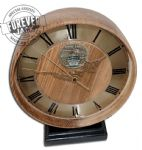 Recessed Wooden clock -Trafalgar